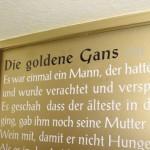 Märchen auf Holztür 1