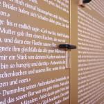 Märchen auf Holztür 2