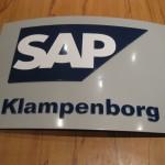 SAP Videokonferenzraum Schild 1