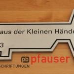 """SAP Kindergarten in Walldorf """"Haus der kleinen Hände"""" Schlüssel für Einweihung"""
